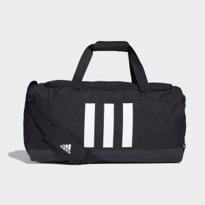 Спортивная сумка Essentials 3-Stripes Medium Performance adidas. Цвет: черный