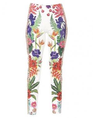 Повседневные брюки GAI MATTIOLO. Цвет: белый
