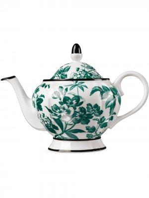 Заварочный чайник Herbarium Gucci. Цвет: белый