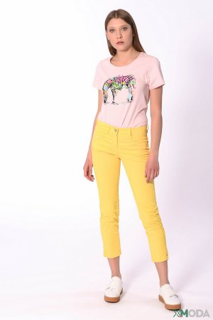 Капри Gardeur. Цвет: жёлтый