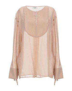 Блузка DAY BIRGER ET MIKKELSEN. Цвет: песочный