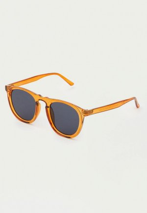 Очки солнцезащитные Pull&Bear. Цвет: желтый