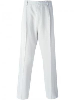 Классические брюки Lanvin. Цвет: серый