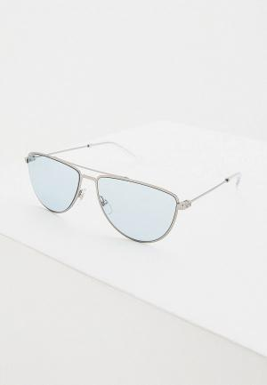 Очки солнцезащитные Givenchy GV 7157/S 6LB. Цвет: серебряный