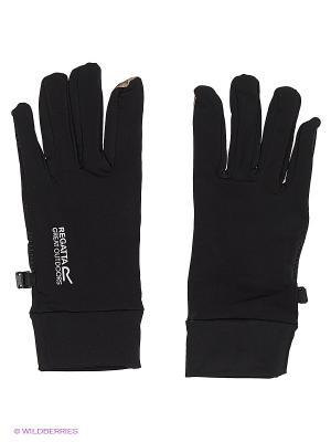 Перчатки Touchtip Str Glv REGATTA. Цвет: черный