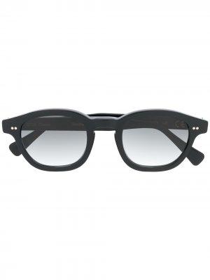 Солнцезащитные очки в квадратной оправе Epos. Цвет: черный