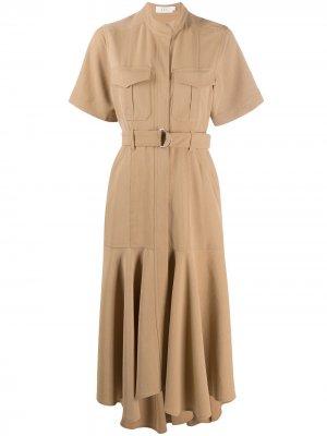 Платье Emma A.L.C.. Цвет: нейтральные цвета
