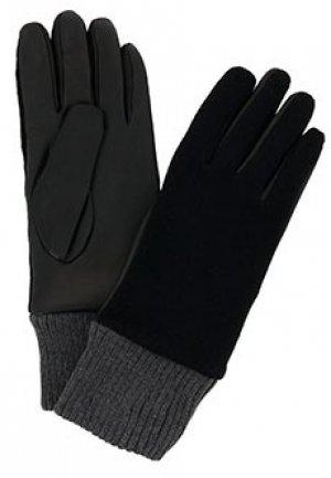 Перчатки BRUNO CARLO. Цвет: черный