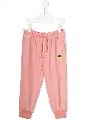 Спортивные брюки с логотипом Bobo Choses. Цвет: розовый