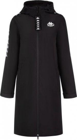 Ветровка женская , размер 48 Kappa. Цвет: черный