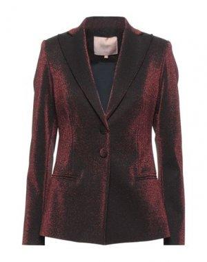 Пиджак BABYLON. Цвет: красно-коричневый