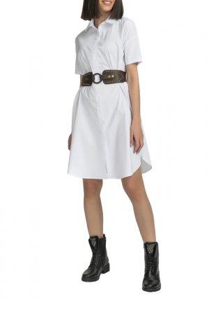 Платье Gloss. Цвет: белый