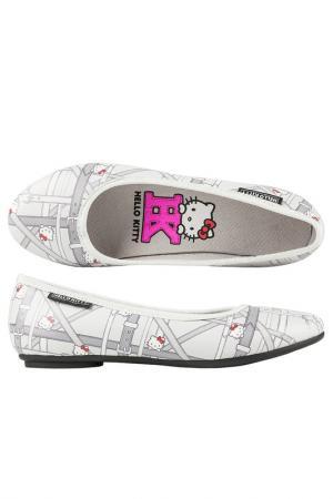 Туфли Hello Kitty. Цвет: серый