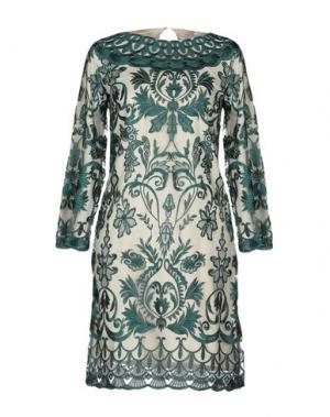 Короткое платье DRY LAKE.. Цвет: зеленый