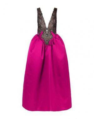 Длинное платье CHRISTOPHER KANE. Цвет: розовато-лиловый