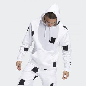 Худи Shmoofoil Box Originals adidas. Цвет: черный