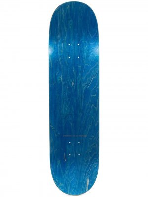 Скейтборд с логотипом PACCBET. Цвет: синий