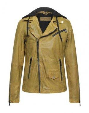 Куртка FREAKY NATION. Цвет: зеленый-милитари