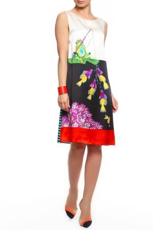Платье GIULIA ROSITANI. Цвет: мультицвет