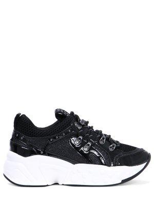 Комбинированные кроссовки DKNY