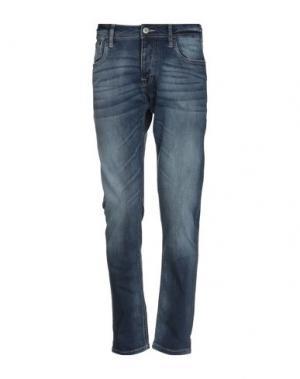 Джинсовые брюки JACK & JONES. Цвет: синий