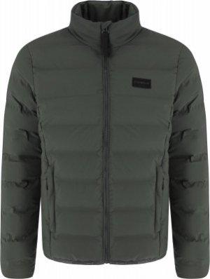 Куртка утепленная мужская Vidor, размер 50 IcePeak. Цвет: зеленый