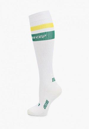Компрессионные гольфы CEP 80s Compression Knee Socks C120. Цвет: белый