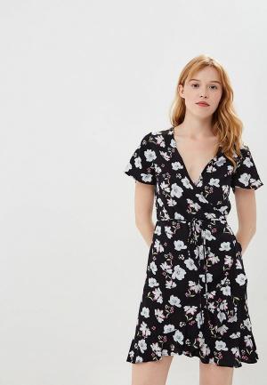 Платье Befree BE031EWBNDA2. Цвет: черный