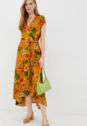 Платье Forus. Цвет: желтый