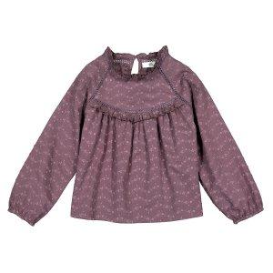 Блузка LaRedoute. Цвет: фиолетовый