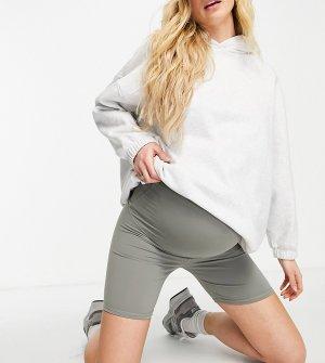 Серые шорты-леггинсы -Серый Cotton:On Maternity