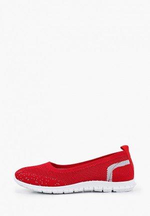 Туфли GLAMforever. Цвет: красный