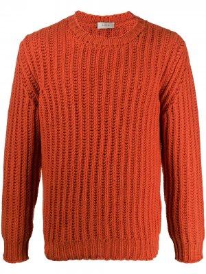 Ribbed-knit jumper Altea. Цвет: оранжевый