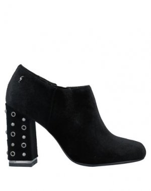 Ботинки GATTINONI. Цвет: черный