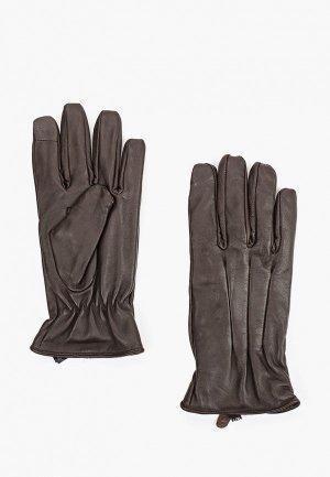 Перчатки Jack & Jones. Цвет: коричневый