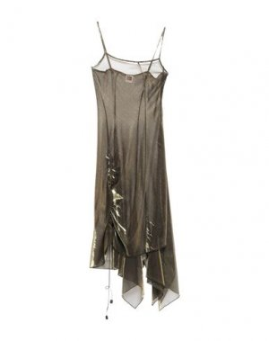 Платье до колена I'M ISOLA MARRAS. Цвет: бронзовый