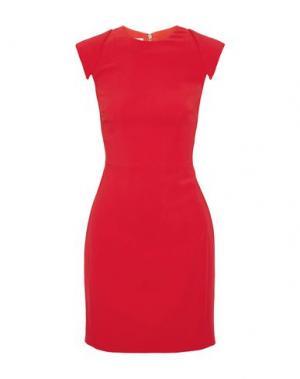 Короткое платье ANTONIO BERARDI. Цвет: красный