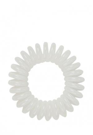 Комплект invisibobble для волос Innocent White. Цвет: белый