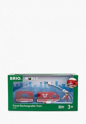 Игрушка Brio Локомотив, 8х4х5 см. Цвет: красный