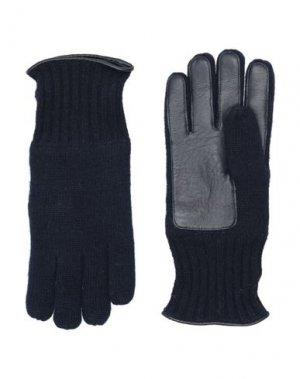 Перчатки BALDININI. Цвет: темно-синий
