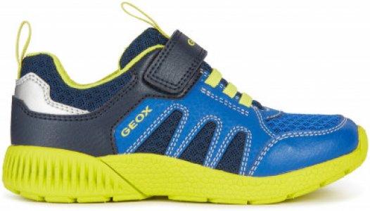 Кроссовки для мальчиков J Svetch, размер 35 Geox. Цвет: синий