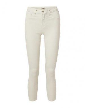 Повседневные брюки L'AGENCE. Цвет: слоновая кость