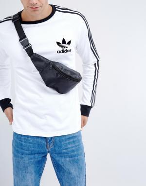 Фестивальная нейлоновая сумка-кошелек на пояс 7X. Цвет: черный