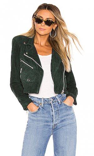 Косуха mercy Understated Leather. Цвет: зеленый