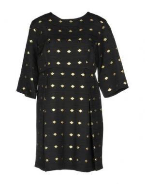 Короткое платье ELLA LUNA. Цвет: черный