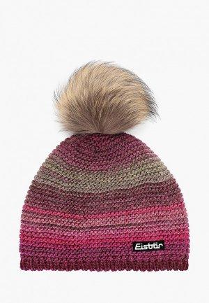 Шапка Eisbar Kunita Fur MÜ. Цвет: фиолетовый