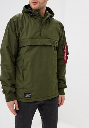 Куртка утепленная Alpha Industries WP Anorak. Цвет: хаки