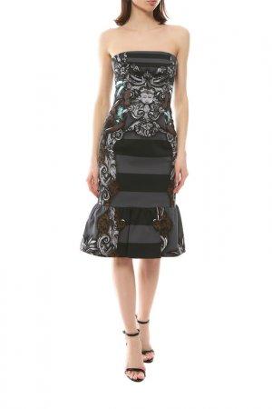 Платье Prada. Цвет: мультиколор