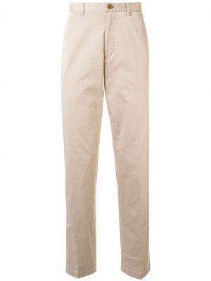 Классические брюки чинос Kent & Curwen. Цвет: нейтральные цвета