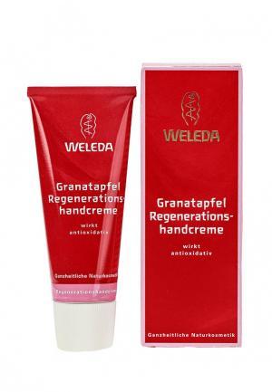 Крем для рук Weleda Гранатовый восстанавливающий, 50 мл. Цвет: красный